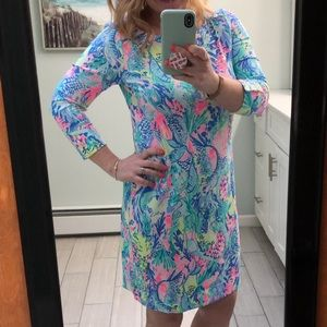 Lilly Pulitzer Sophie Dress. Mermaids Cove.